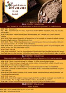 UESC realiza grande evento sobre o cacau