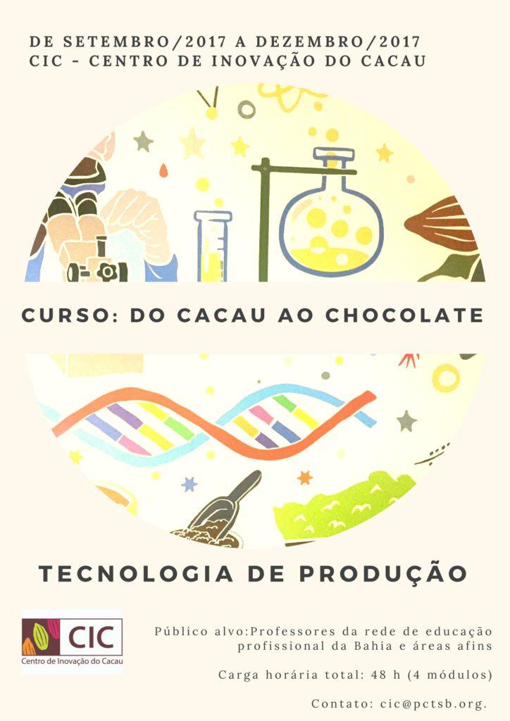 CIC realiza curso do Cacau ao Chocolate