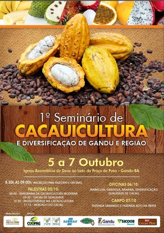 1º Seminário de Cacauicultura de Gandu e Região